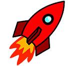 картинка ракета