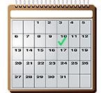 календарь начала работы