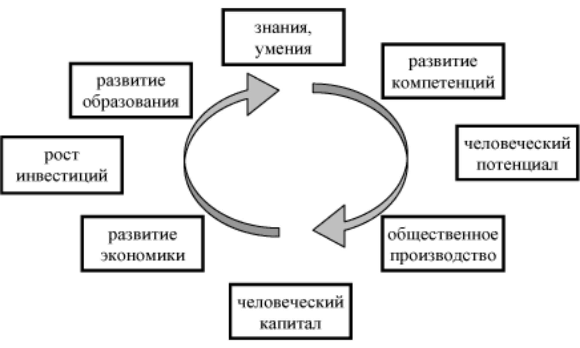 Человеческий капитал это в экономике главный фактор развития государства